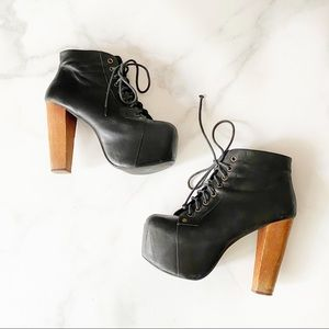 Jeffrey Campbell Lita Booties Size 6